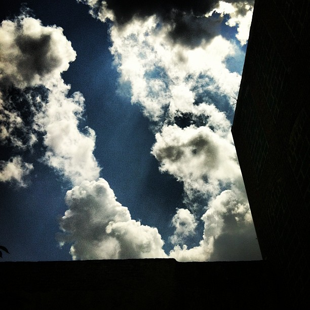 Light peaking through. (Taken with  Instagram  at Elfreth's Alley Museum)