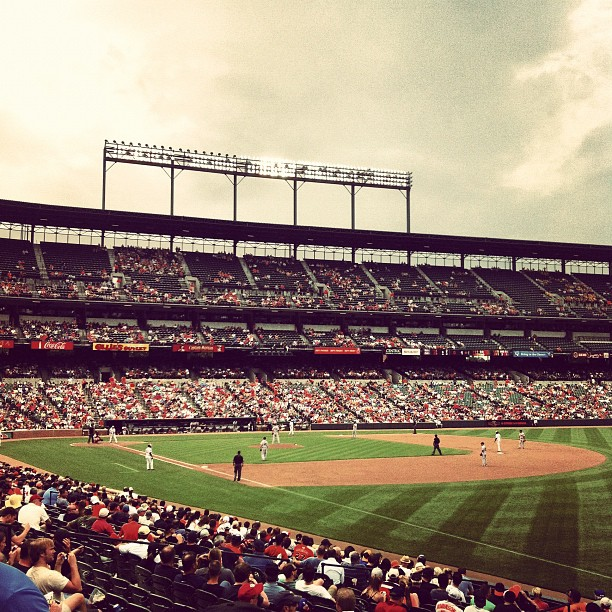 Taken with  Instagram  at Camden Yards
