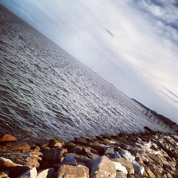 Taken with Instagram at Chesapeake Bay