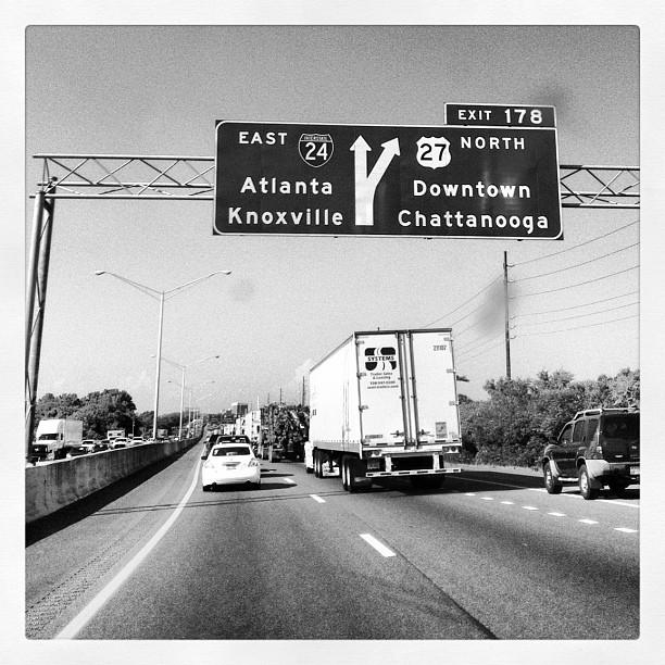 Next stop, Atlanta. (Taken with  Instagram  at Cracker Barrel)
