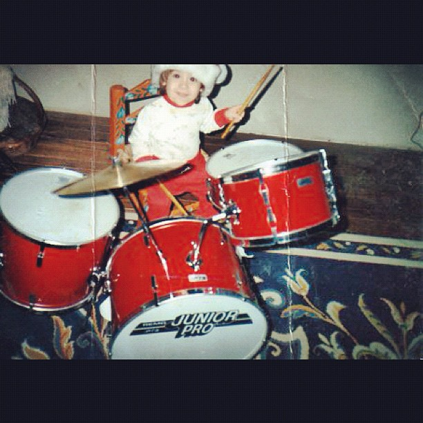Anthony in 1992 (Taken with  instagram )