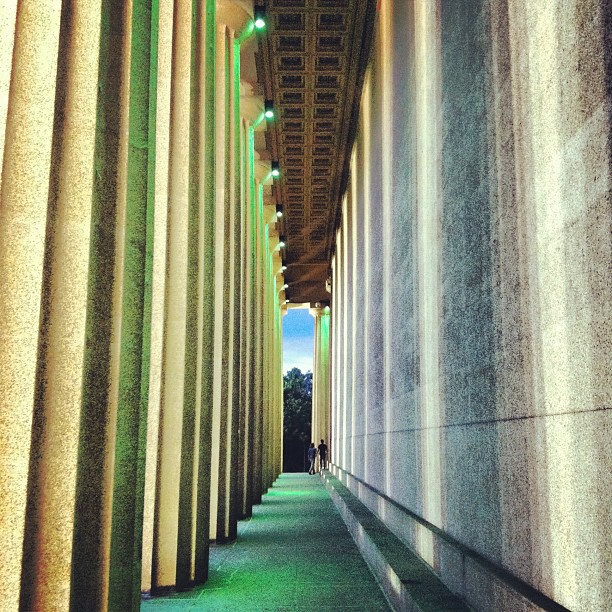 Columns  (Taken with  Instagram  at The Parthenon)