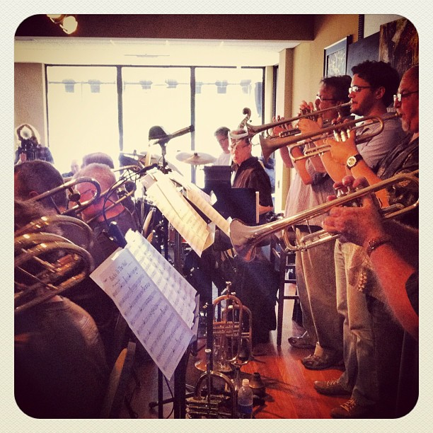Jim Williamson's Big Band (Taken with  Instagram  at Commodore Grille)