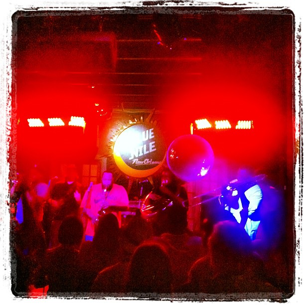 More live music in NOLA. (Taken with Instagram at Blue Nile)
