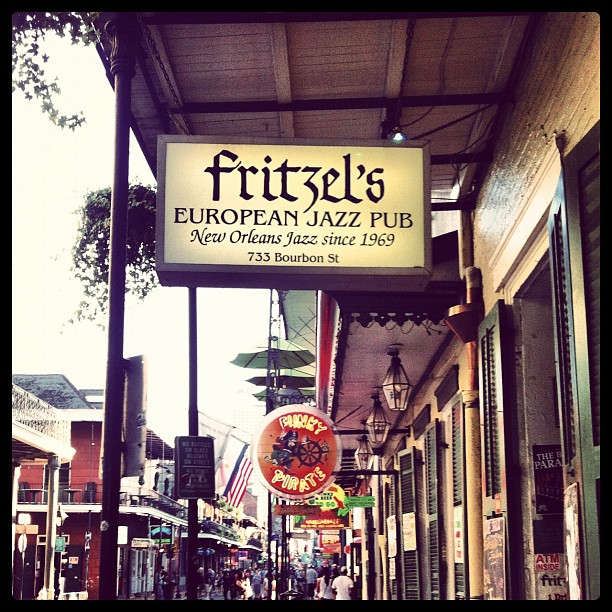 Fritzel's (Taken with Instagram at Fritzel's European Jazz Pub)