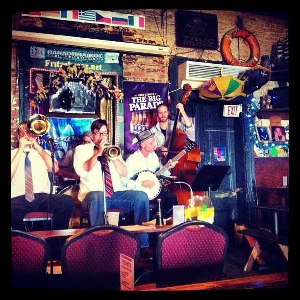 Berdito Jazz Band (Taken with  Instagram  at Fritzel's)