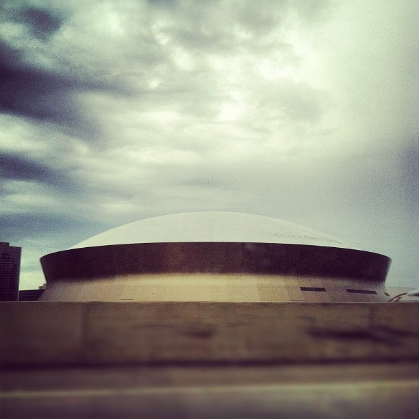 Superdome (Taken with  Instagram  at New Orleans)