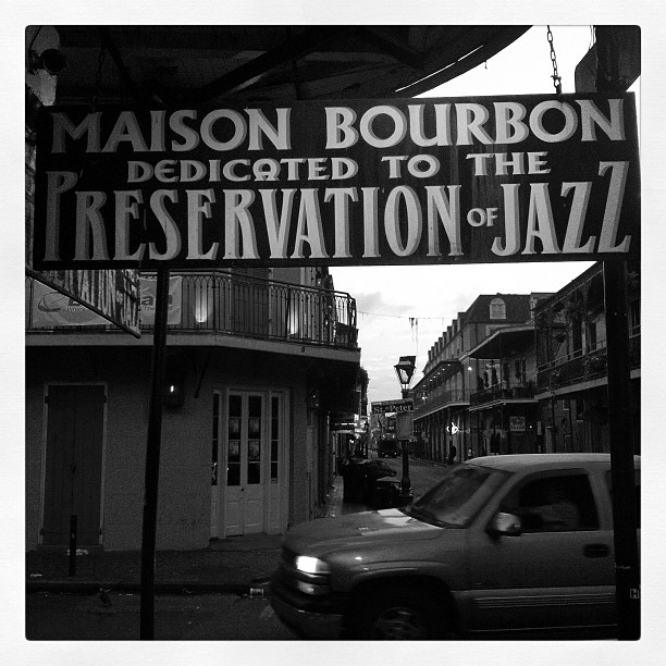 Bourbon St. (Taken with  instagram )