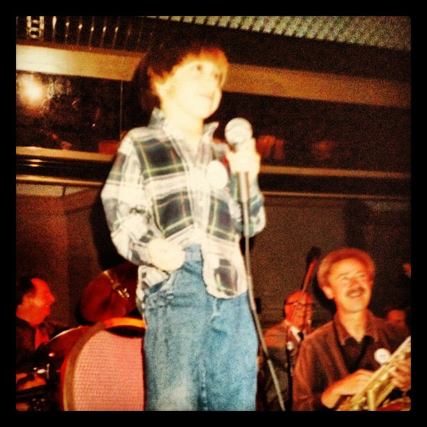 The inspiration for #amarvelousera. Anthony at a young age. (Taken with  instagram )