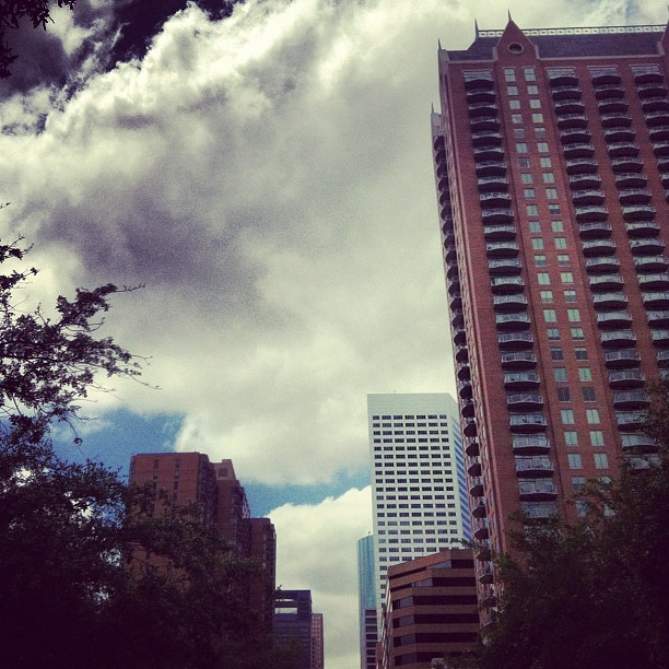 Downtown Houston. (Taken with  instagram )