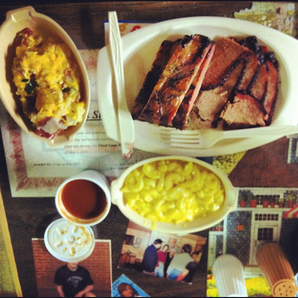 Central BBQ, Pearland, TX (Taken with  instagram )