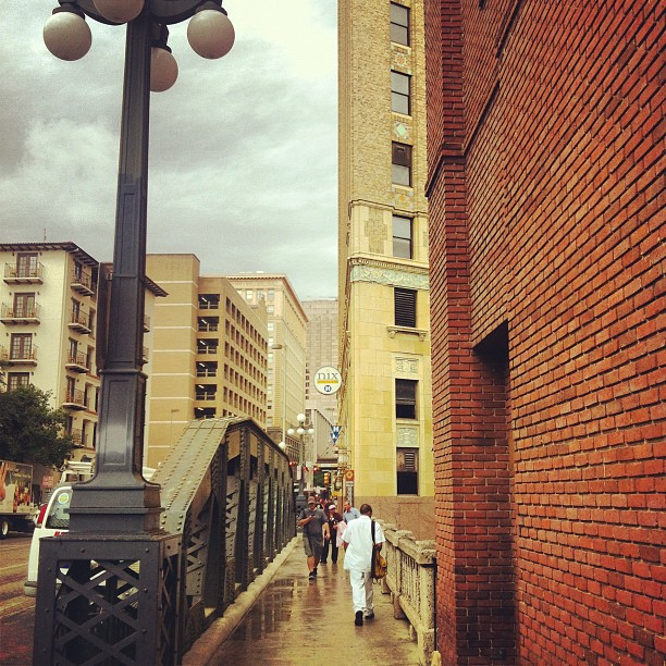 Navarro st. San Antonio, TX (Taken with  instagram )
