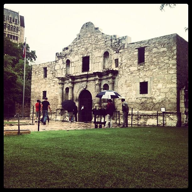 The Alamo #amarvelousera (Taken with  instagram )