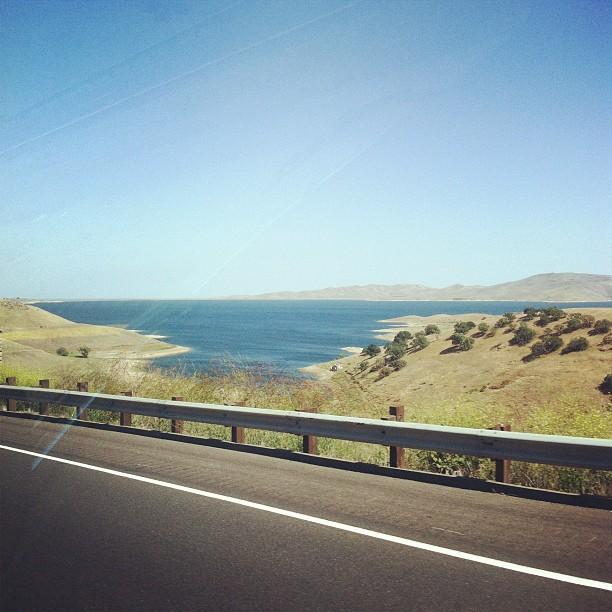 San Luis reservoir (Taken with  instagram )
