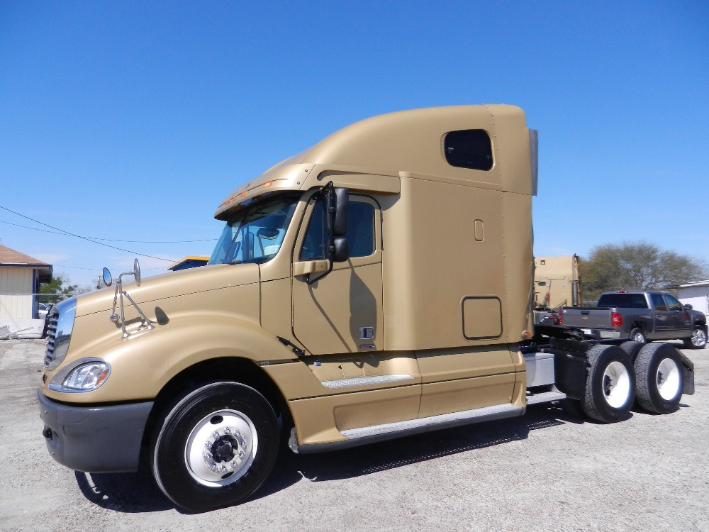 SOLD   2007 freightliner FLC columbia  14.0 Detroit Series 60 455hp, Jakes, 10 speed A/R