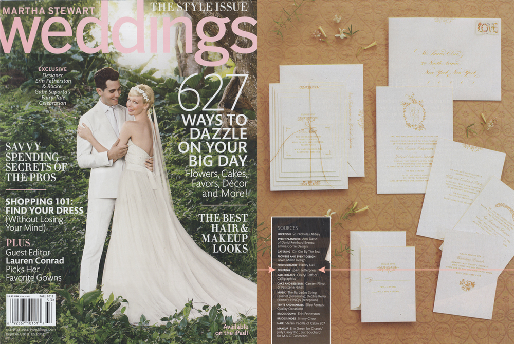 Photos by Marcus Nilsson/Martha Stewart Weddings, Fall 2013. Copyright 2013.