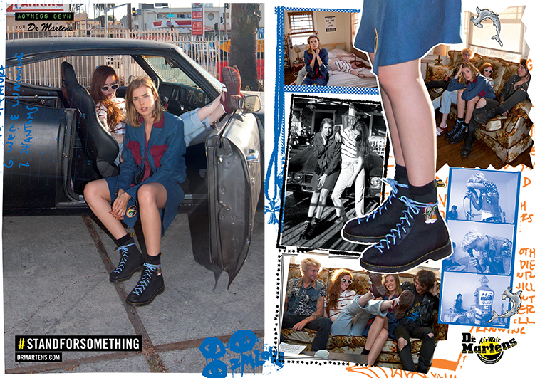 Agyness Deyn for Doc Martens