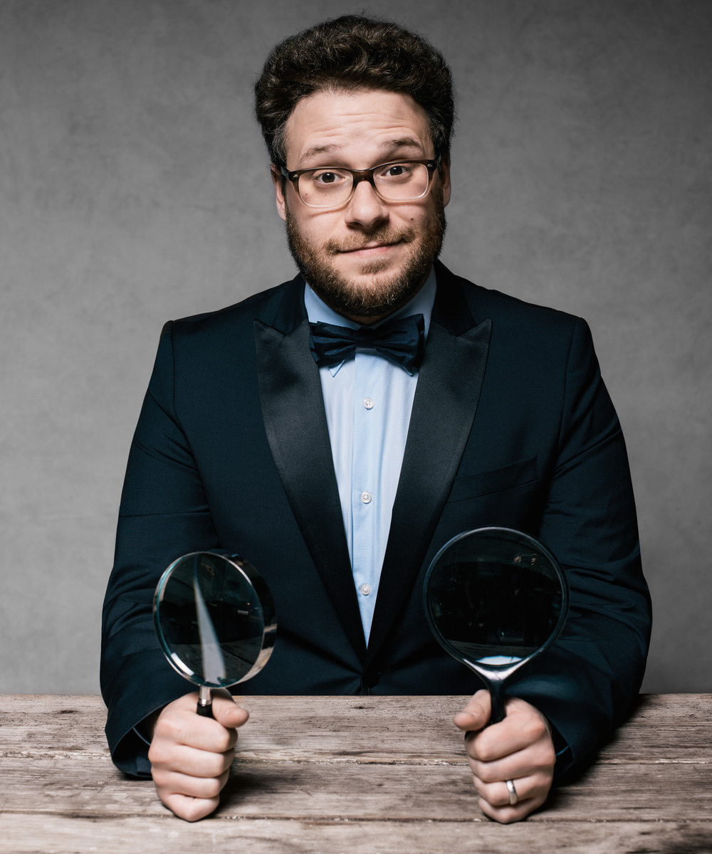 Seth Rogan by Jeff Vespa for The Art of Discovery