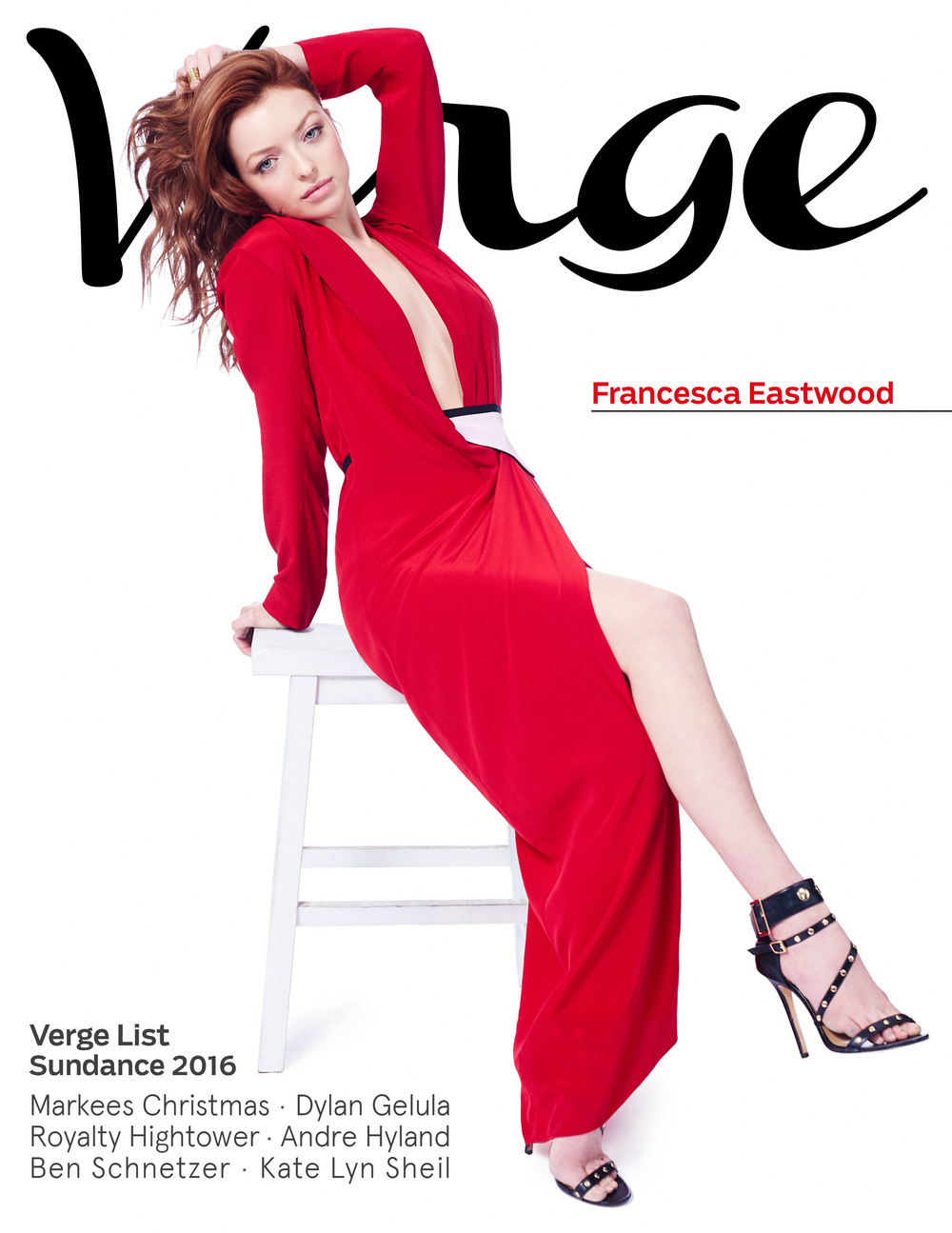 Francesca Eastwood  Verge Cover by Jeff Vespa