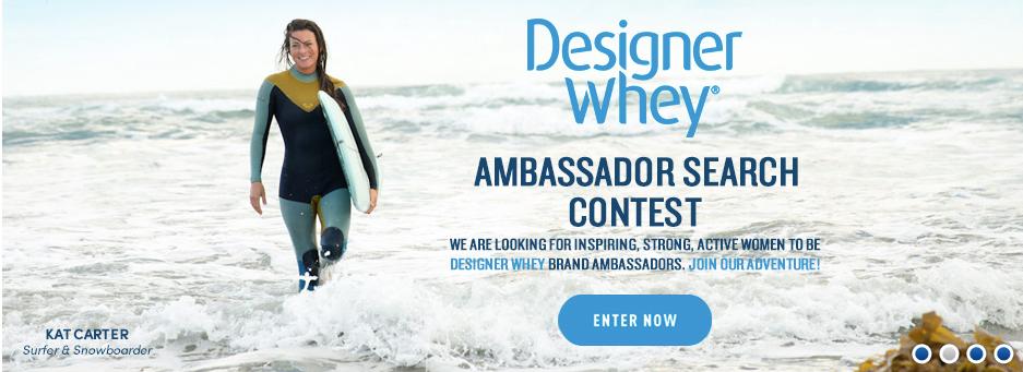 Designer Whey Ambassador Campaign