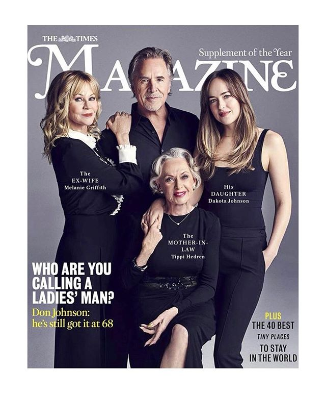 #Fbf This one slipped through the cracks from June of 2018. #makeup on Melanie Griffith for the cover of  #uktimesmagazine ♥️ Photo by Joe Pugliese Hair by @therealseanmetcalfe