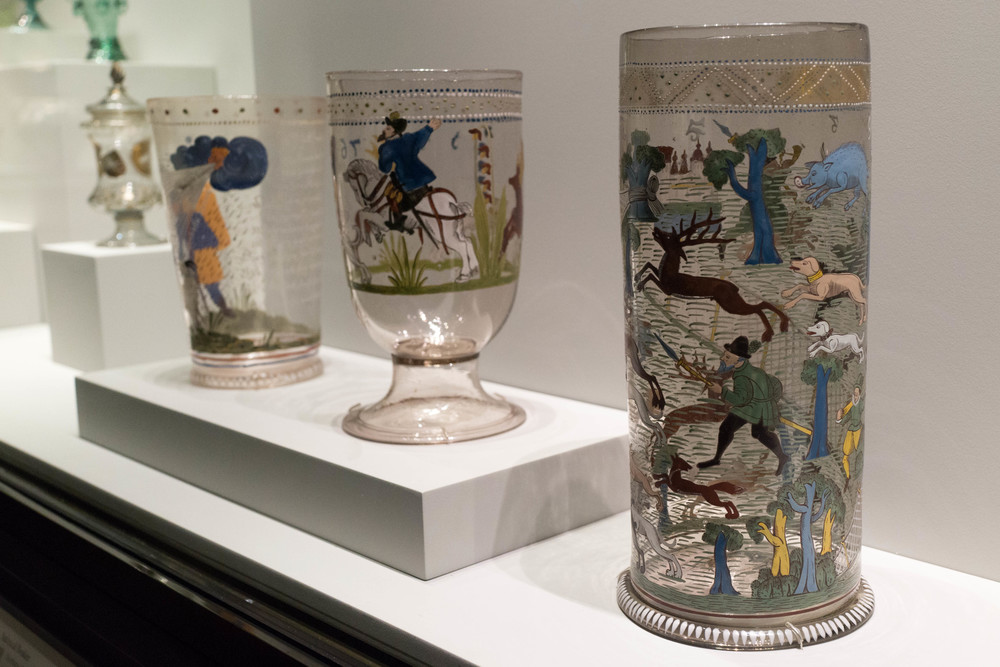 16th Century German glassware