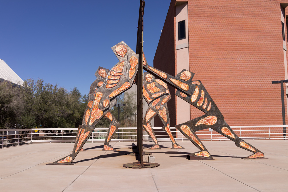 Sculpture at the University of Arizona campus