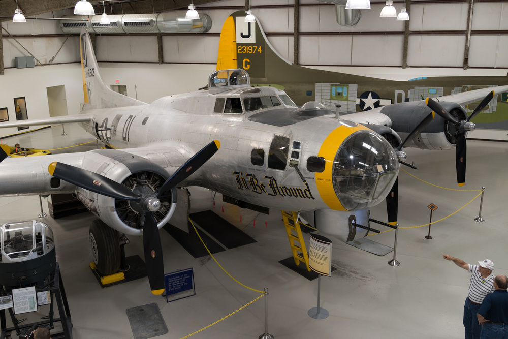 B-17 has it's own hanger