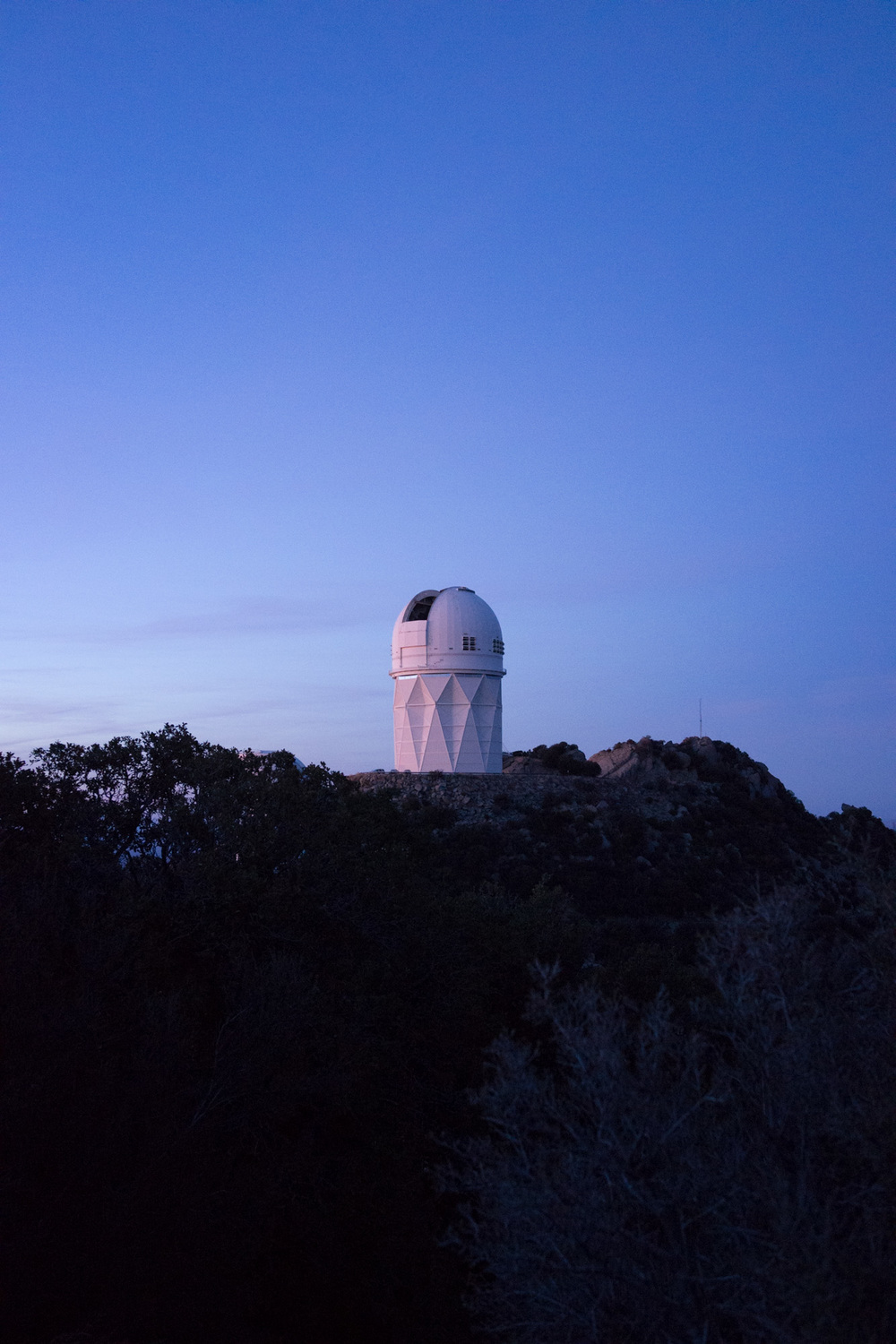 One of the many observatories on Kitt Peak
