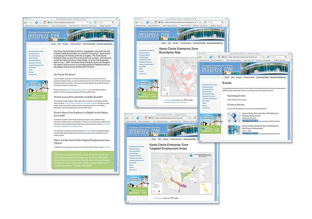 Enterprise Zone Website