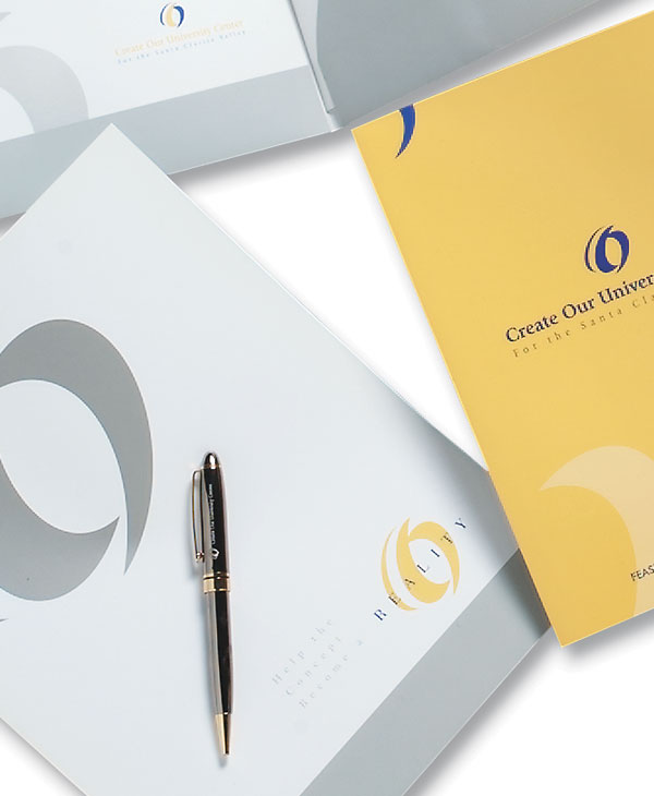 Capital Campaign Materials feature Logo, Stationery,  Press Kit, Brochure, Annual Report, and Specialty Marketing Materials