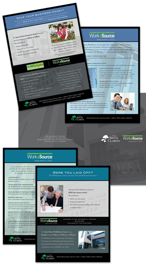 Press Kit, Employer and Job Seeker Inserts