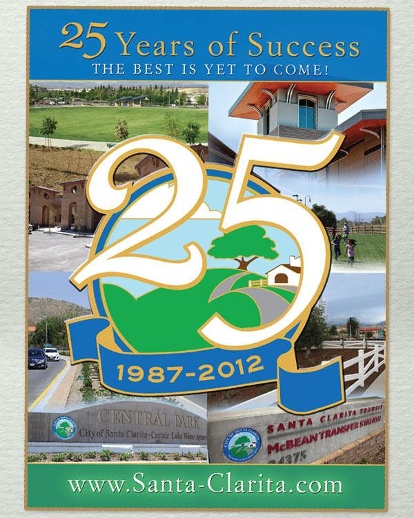 25th Anniversary Transit Shelter Posters 25th Anniversary Advertising and Event Invitation