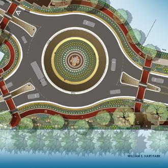 Roundabout Signage