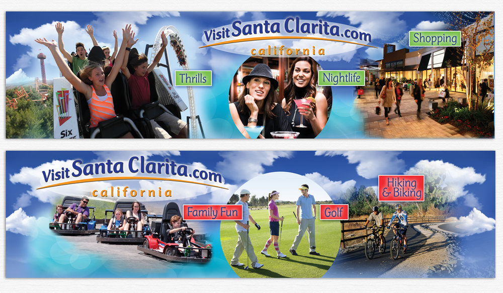 Bus Shelter Posters for New Branding Program