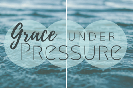 Our Current Sermon Series  - Grace under pressure is not easy. It is written in Hebrews 12:15