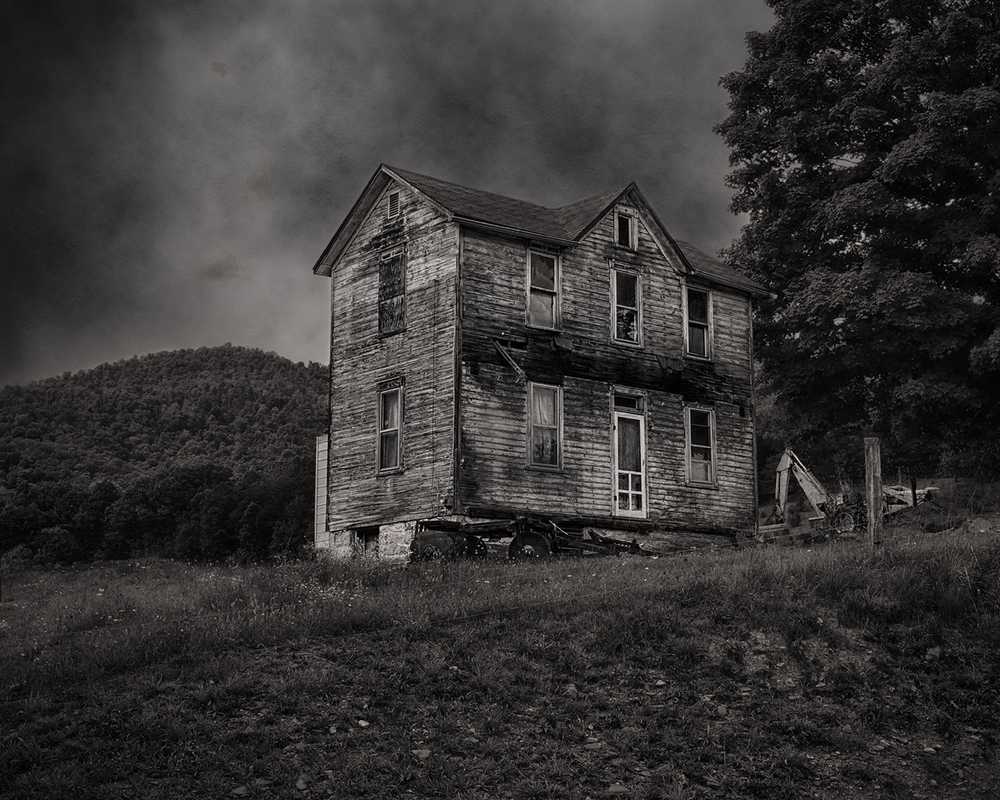 Abandoned house in Bedford County, PA
