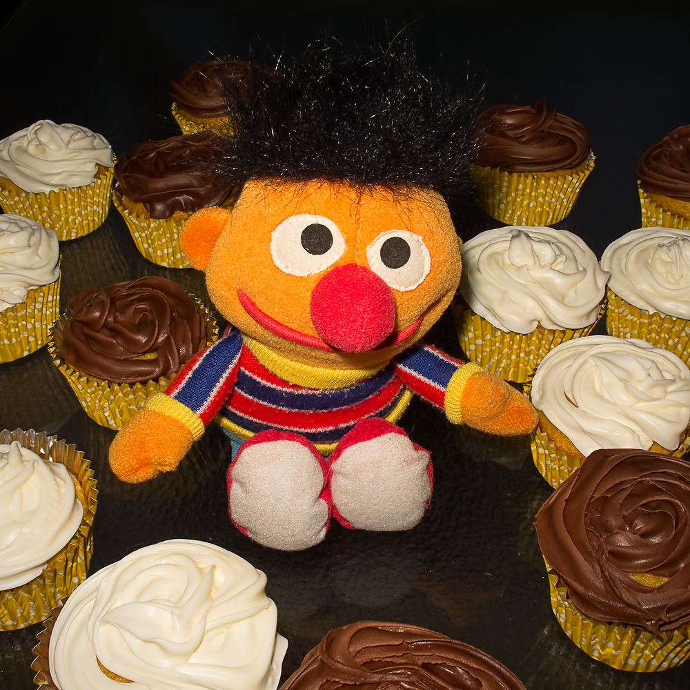Ernest Jamal Krebs, Cupcake connoisseur.