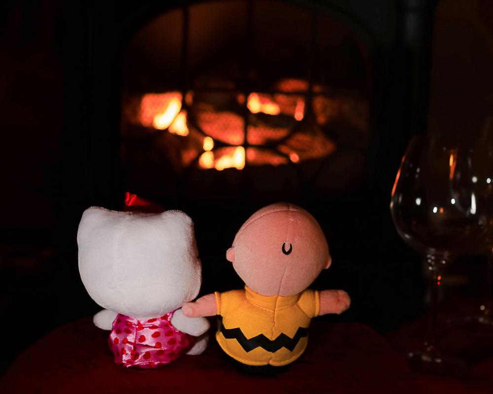 Fireside romance