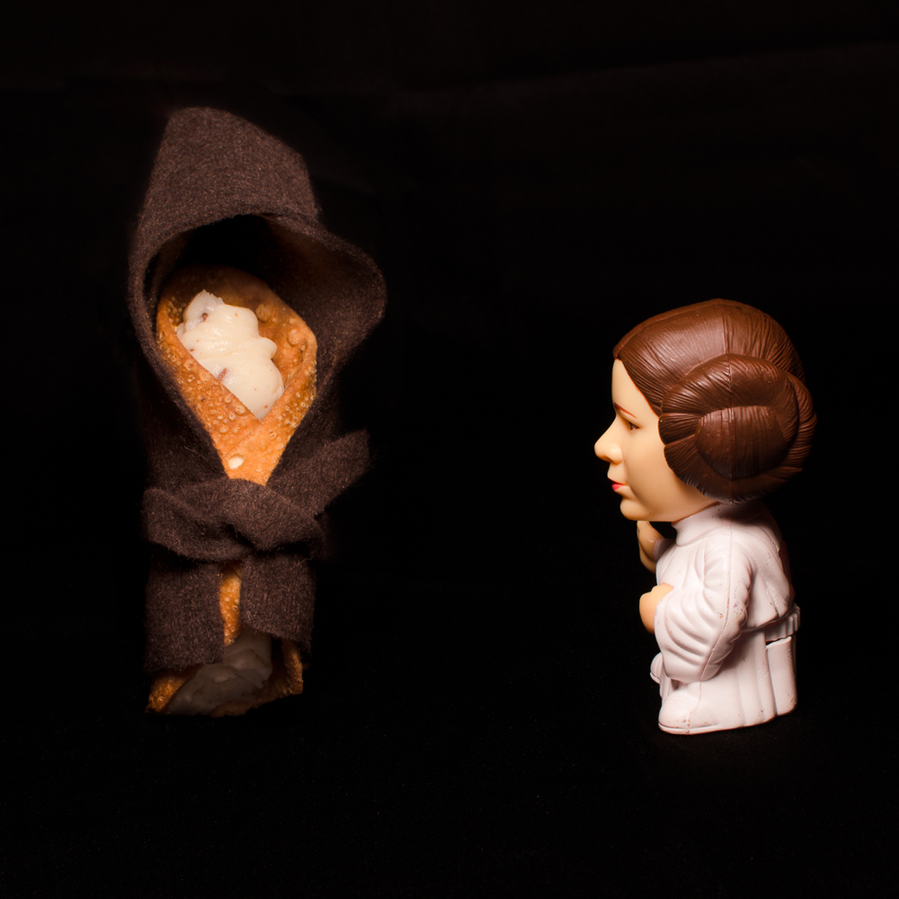 Help me Obi Wan Cannoli.  You're my only hope...