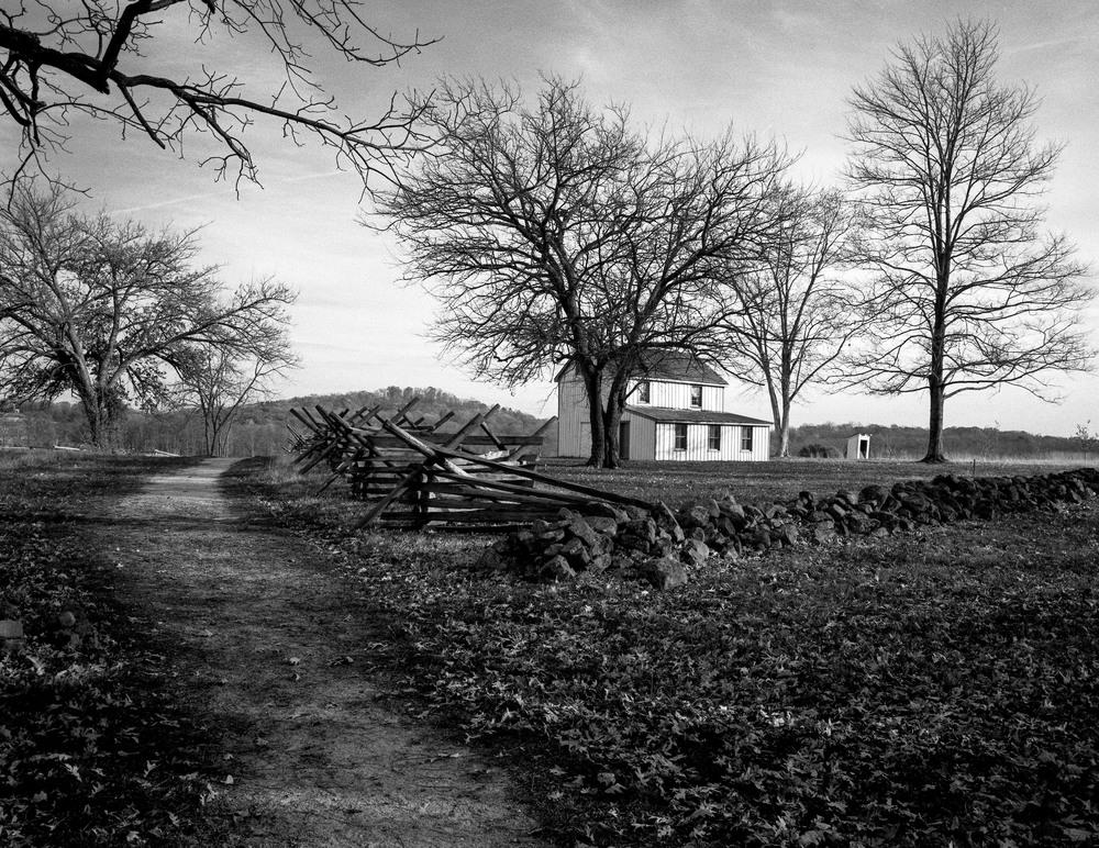 Philip Snyder House.  Gettysburg battlefield.