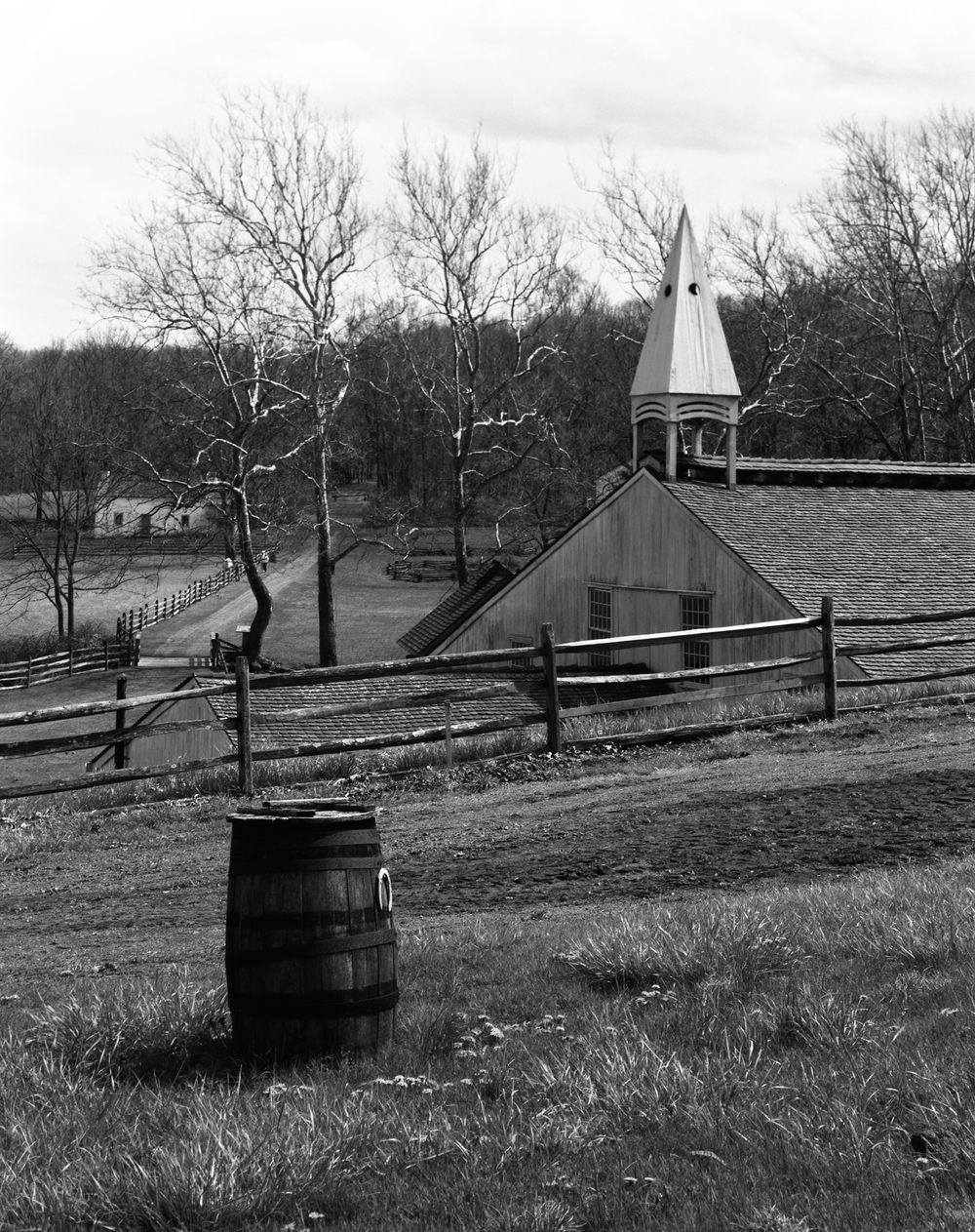 4x5_for_365_project_0127_Hopewell_Village_barrel_and_steeple.png