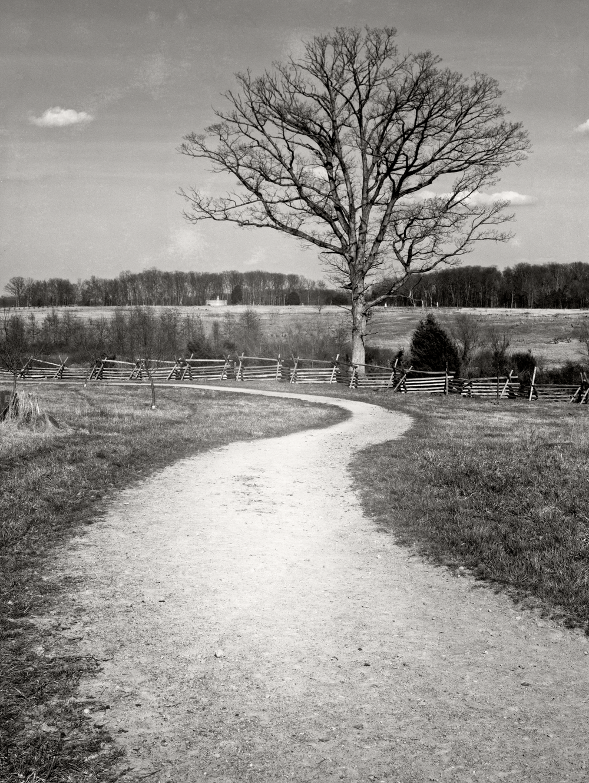 Horse trail at Gettysburg.