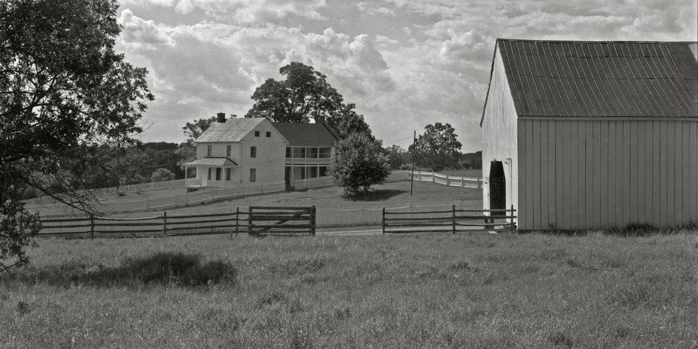 Poffenberger Farm.  Antietam National Battlefield.  July 2016.