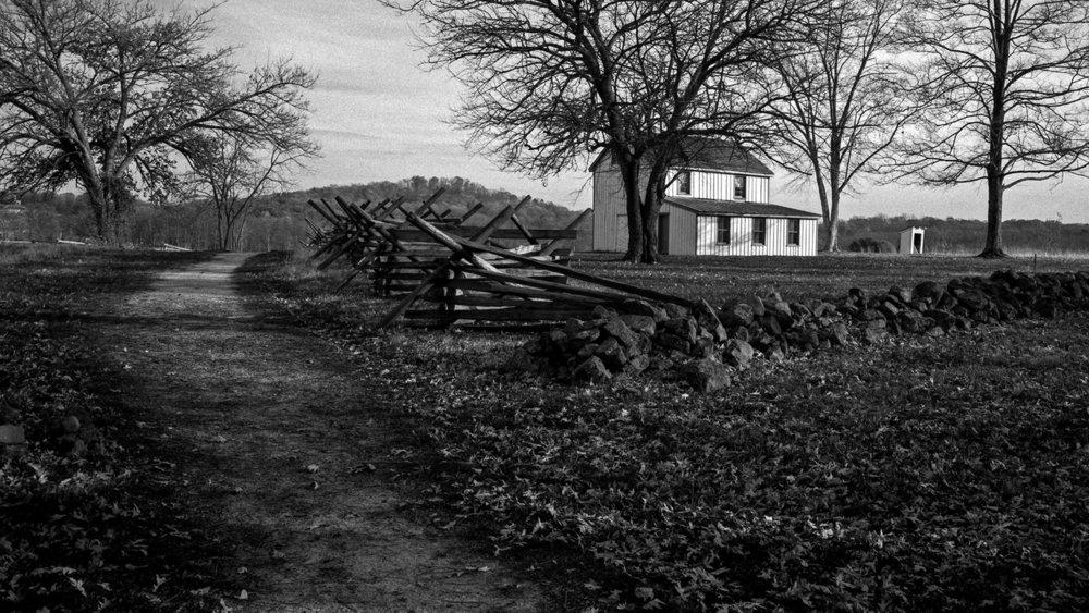 Philip Snyder House at Gettysburg.