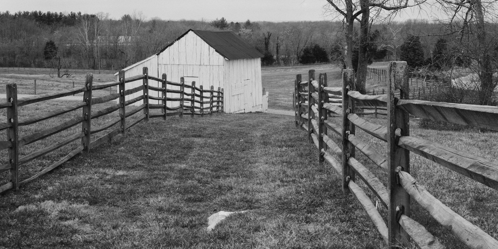 Joseph Poffenberger Farm.  Antietam Battlefield.  Sharpsburg, Maryland.
