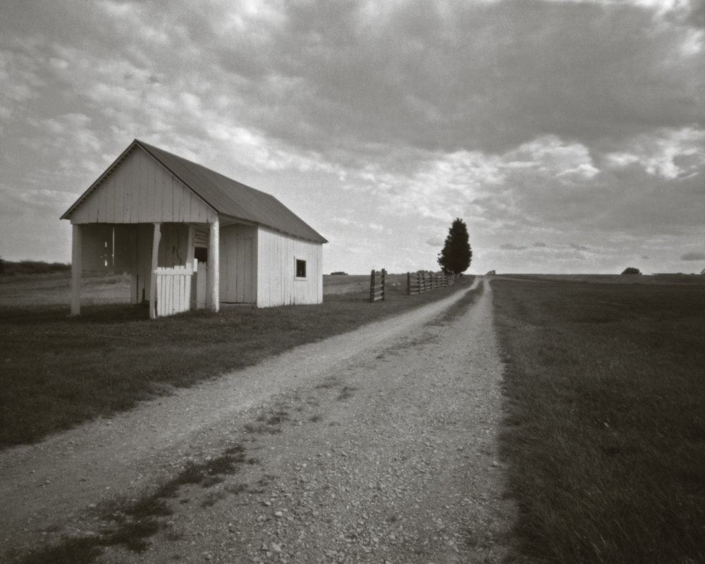 4x5 large format pinhole.  Antietam National Battlefield.  Sharpsburg, Maryland.