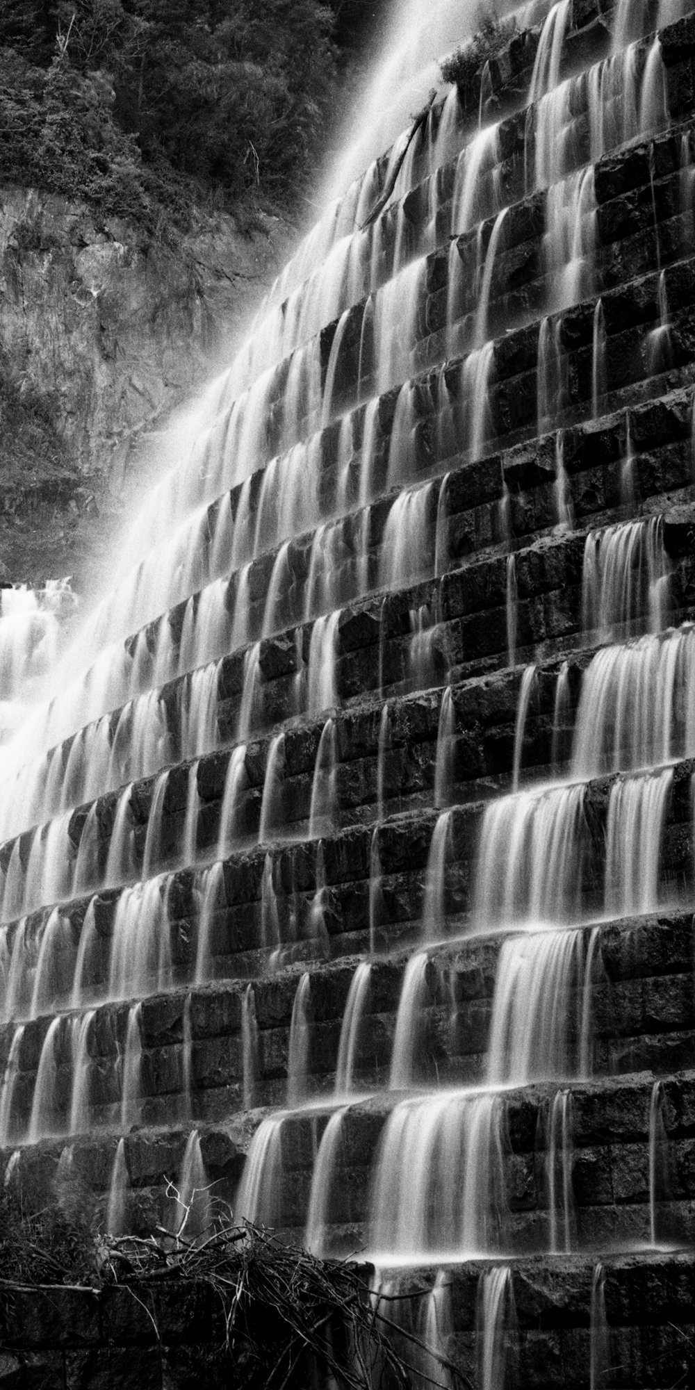New Croton Dam.  Croton On Hudson, New York.