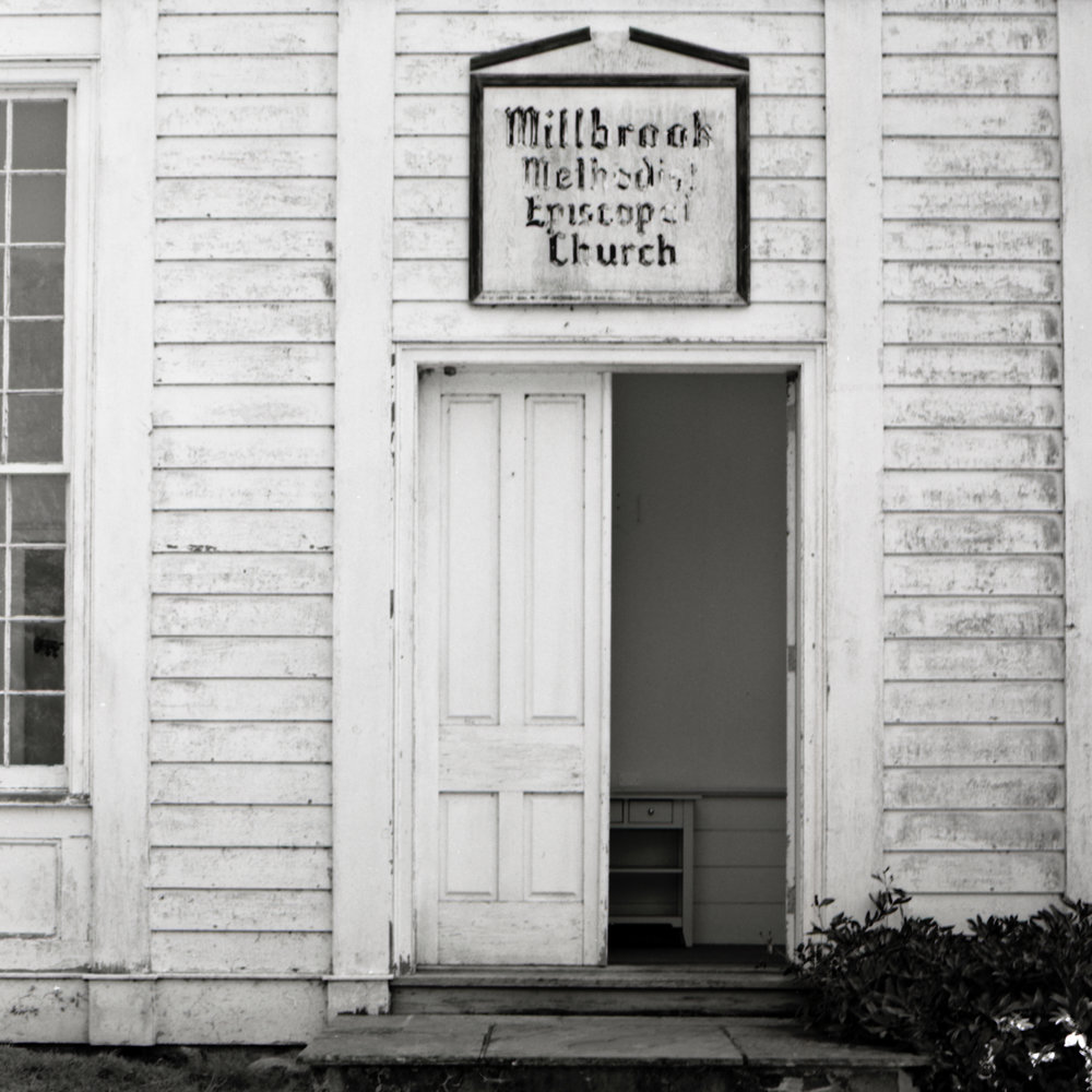 Millbrook Village Methodist Episcopal Church. Hardwick, New Jersey.