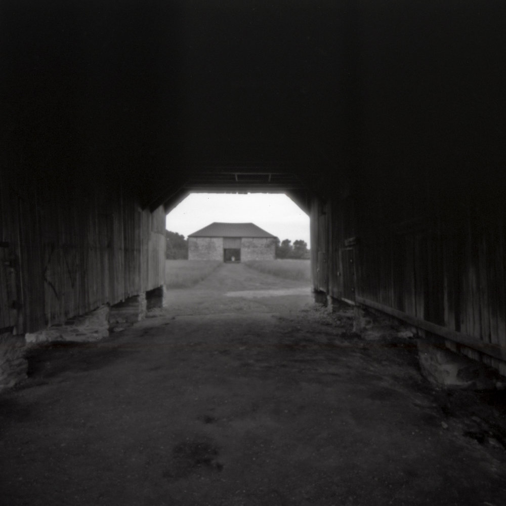 Best Farm at Monocacy National Battlefield.  Frederick, Maryland.  Pinhole Printed Flyer 6x6.